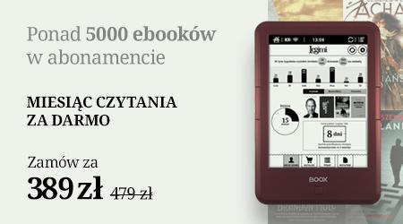 Czytnik z ebookami w abonamencie za 389 zł