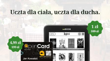 Czytnik za 1 zł. Ebooki bez limitu.
